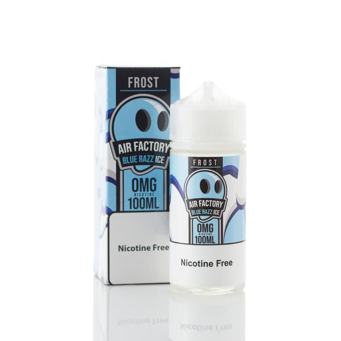 Frost Factory - Blue Razz Ice E-Liquid - 100ml
