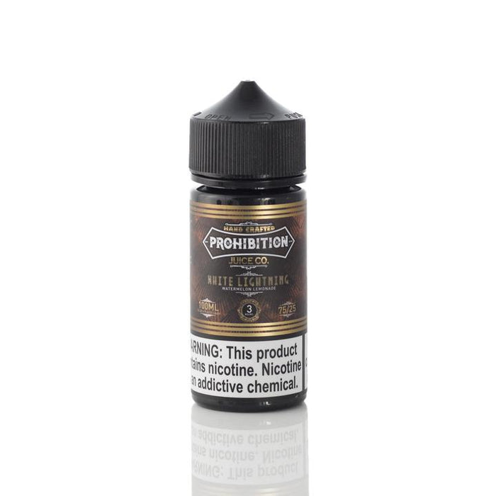 Prohibition - White Lightning E-Liquid - 100ml