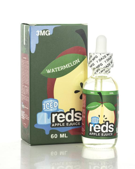 Vape 7 Daze - Reds Watermelon Juice Ice - 60ml