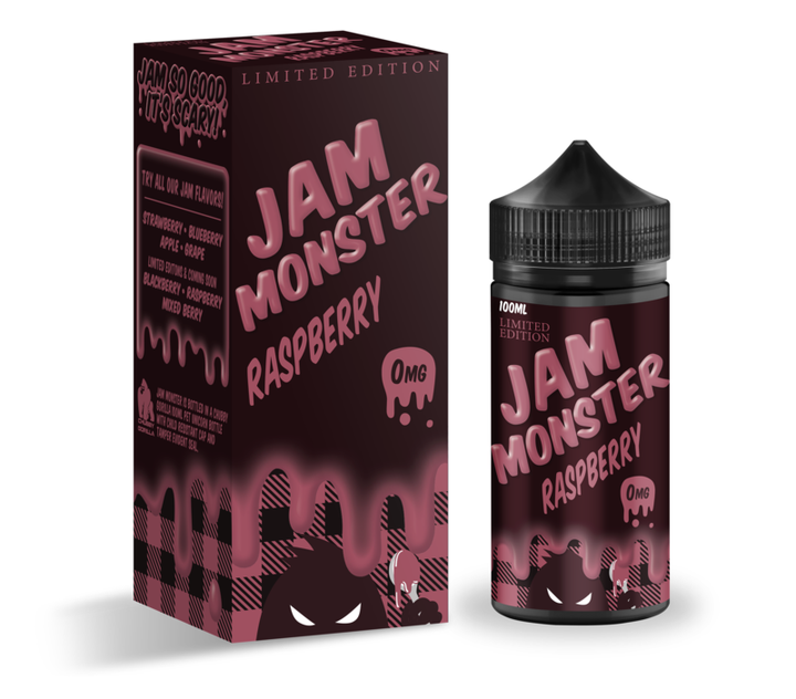 Jam Monster - Raspberry Jam - 100ml