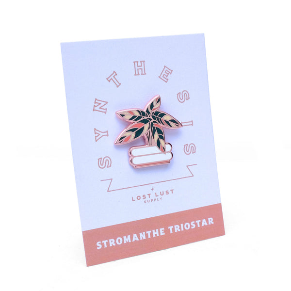 Stromanthe Triostar Pin by Lost Lust Supply