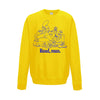 Read Man Sweatshirt (Yellow) By Damn Pet Shop