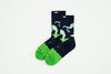 Fancy Footwork / Run : Apple Green Socks by Good Pair