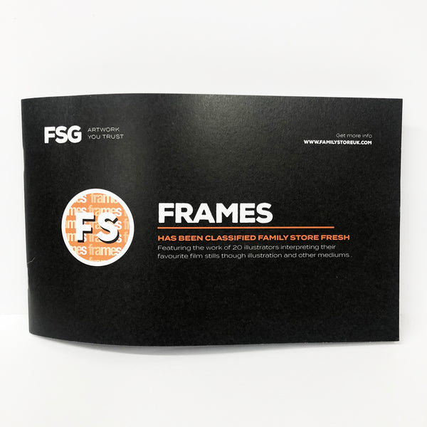 FRAMES (Exhibition) Zine