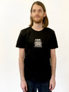 Quantum Mechanics Black Tee by Family Store