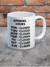 Opening Hours Mug by David Shrigley