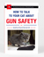 How To Talk To Your Cat About Gun Safety And Abstinence, Drugs, Satanism, and Other Dangers That Threaten Their Nine Lives by Zachary Auburn