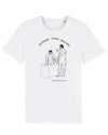 Support Small Business (White tee) - David Shrigley X Family Store.