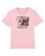 I'M NOT A CAT tee (pink) by Brandt.