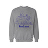 Read Man Sweatshirt (Grey) By Damn Pet Shop