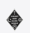 Violent World patch by Ball & Chain