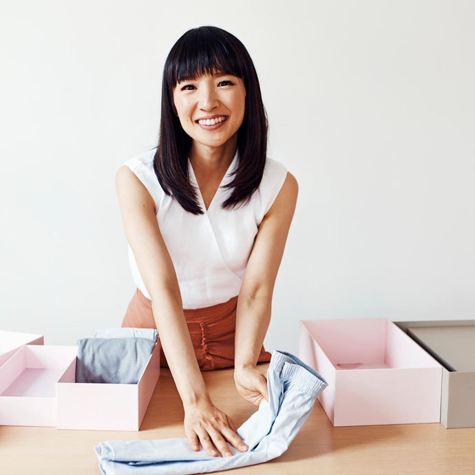 Marie Kondo Your Way to a Better Sleep
