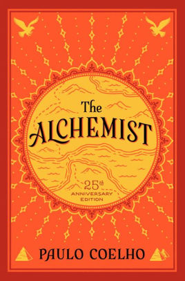 The Alchemist by Paulo Coehlo book cover