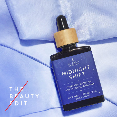 Midnight Shift Overnight Facial Oil feature on The Beauty Edit