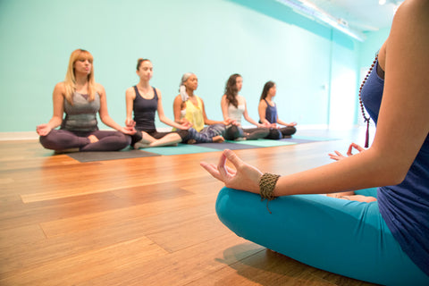 Yoga class at Yoga Bliss in Los Angeles