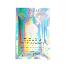 Cloud 9 Silk Pillowcase Moonlit on white background