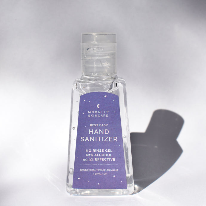 (Pack of 5) Rest Easy Hand Sanitizer Gel