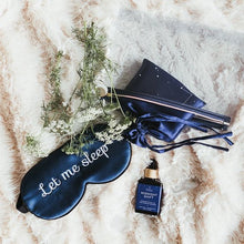 The Ultimate Sleep Kit: contains 'Let Me Sleep' eye mask, Midnight Shift Facial Oil, Constellation Pouch, Silk Pillowcases for all your relaxation and hydration needs. .