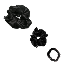 Silk Scrunchie Trio Set