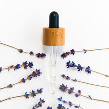lavender surrounding dropper pipette