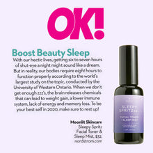 Sleepy Spritzzz.. Facial Toner & Sleep Mist
