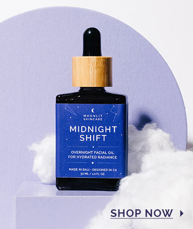 Midnight Shift Overnight Facial Oil Bottle