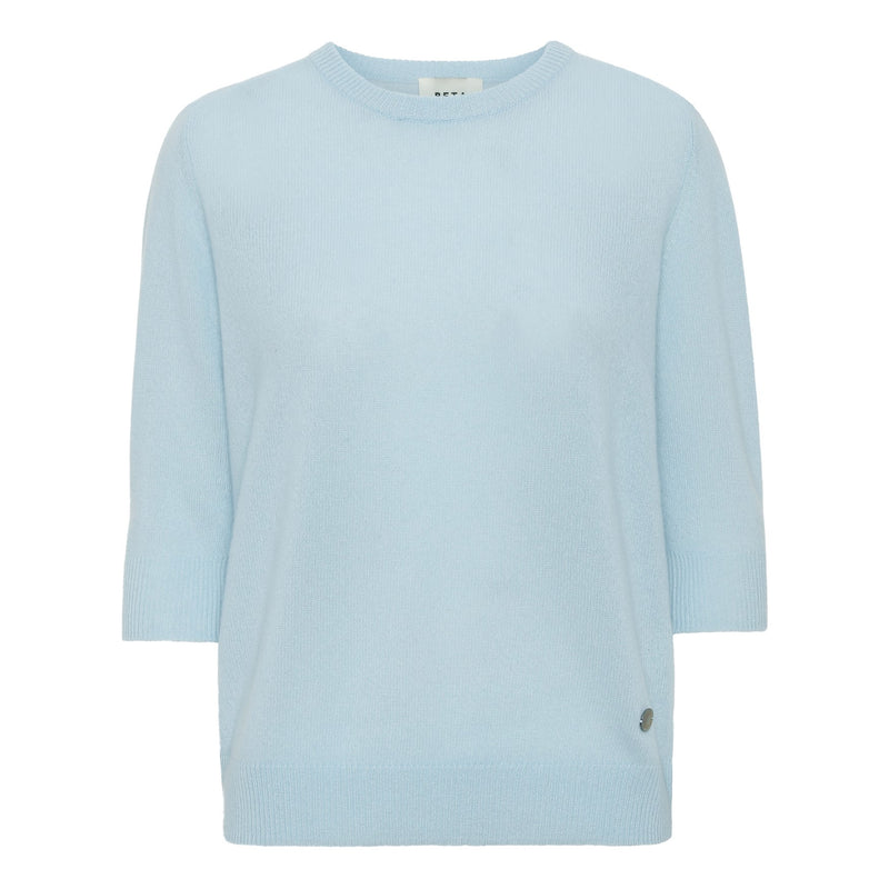 Lady Sleeve Cashmere - Light Blue