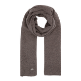 Long Cashmere Scarf - Black