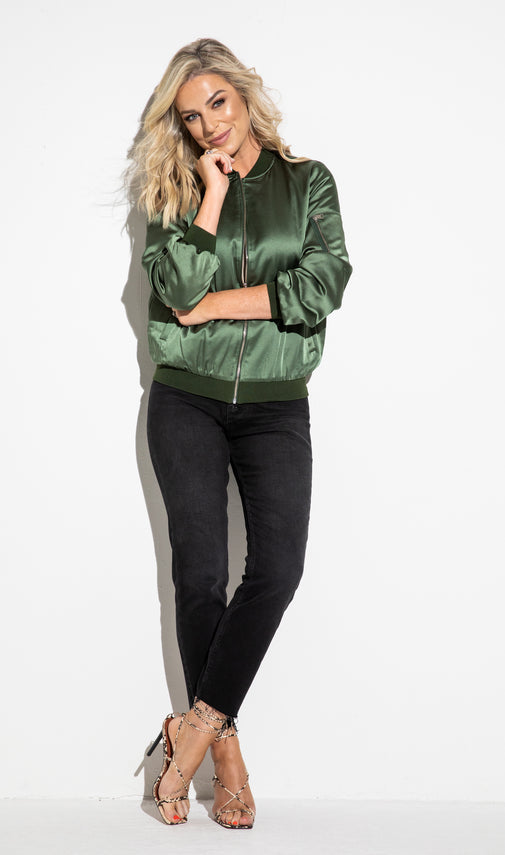 The Bomber Khaki
