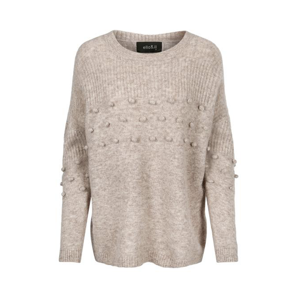 ZUMA smart sweater i superfine alpaca og merinould