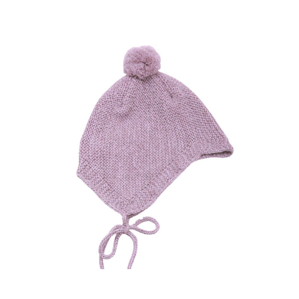 Little Llama - Lama baby hat i alpaca, children's knitwear in wool