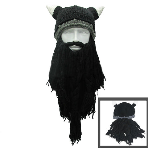 Handmade Viking Beard Hat - 3 different colors