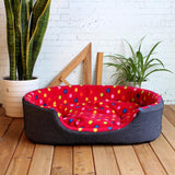 Cat / Dog Multiple Color Bed with 4 Sizes ( S M L XL )