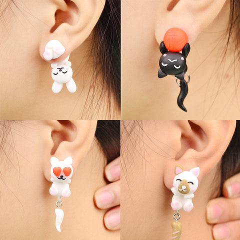 Cat Earrings for Women - Jewellery
