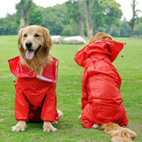 Dog Raincoat with 6 Size