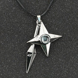 Naruto Leather Pendant Necklace