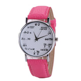 Math Symbols Wrist Watch - 10 Different Colors Style