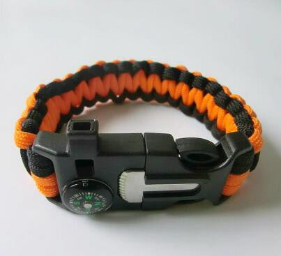 Survival Camping Bracelet - 9 different styles