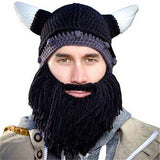 Handmade Viking Beard Hat SHORT - 6 DIFFERENT COLORS