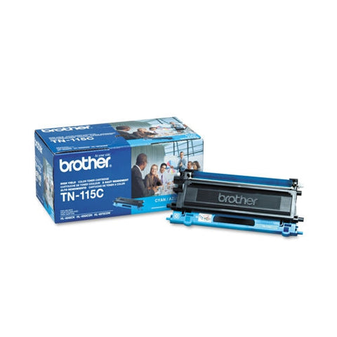Brother High Yield Cyan Toner Cartridge (4000 Yield)