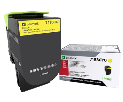 Lexmark CS/CX 317 Yellow Toner Cartridge