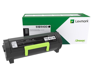 Lexmark MS417 MS517 MS617 MX417 MX517 MX617 High Yield Return Program Toner Cartridge (8500 Yield)