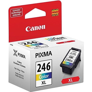 Canon (CL-246XL) PIXMA iP2820 MG2420 MG2920 MG2924 MX492 High Yield Color Ink Cartridge (300 Yield)