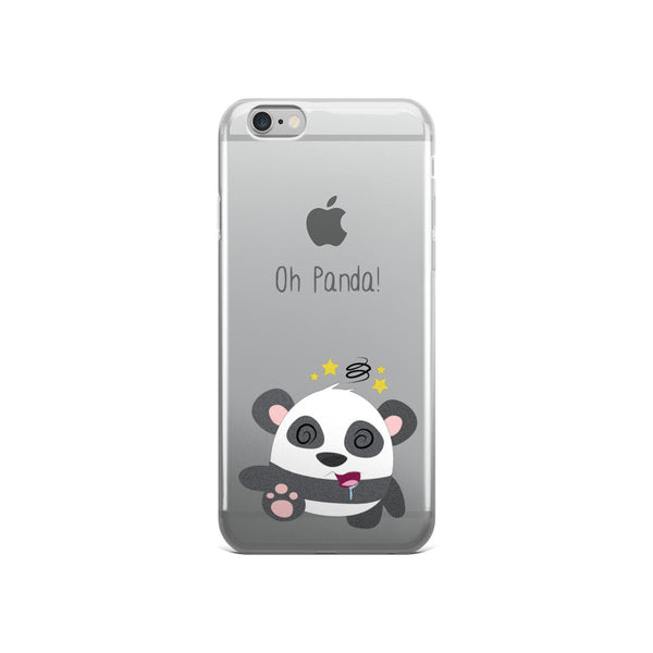 KO Panda iPhone 5/5s/Se, 6/6s, 6/6s Plus Case