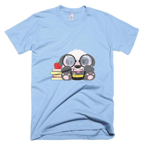 Nerd Panda - Short sleeve men's t-shirt