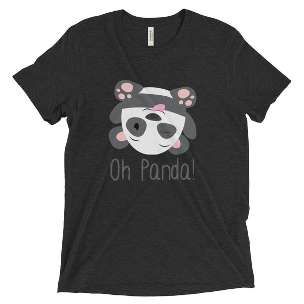 Black Loose T-Shirt - Silly - Oh Panda!