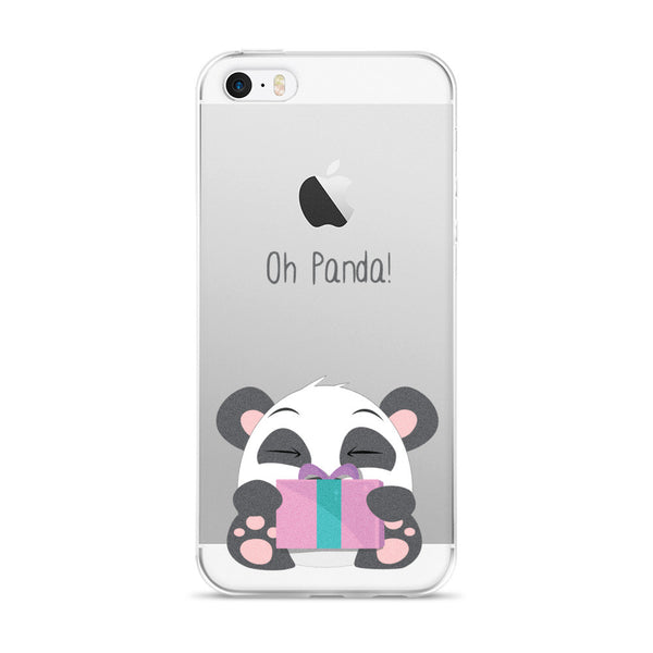Gifted Panda - iPhone 5/5s/Se, 6/6s, 6/6s Plus Case