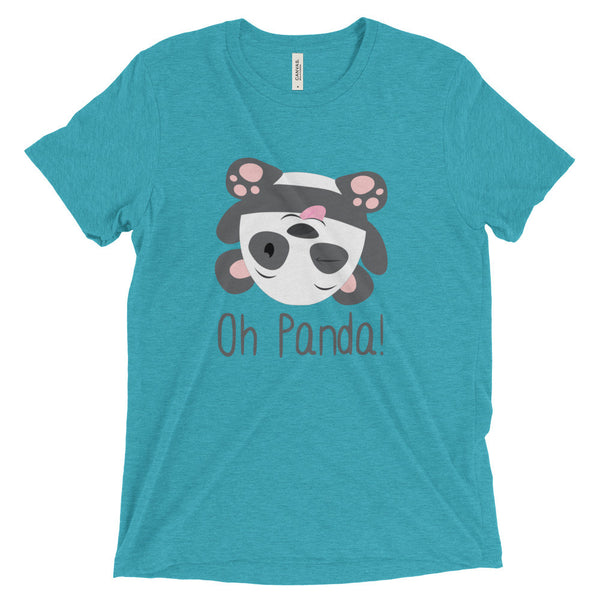 Blue Loose T-Shirt - Silly - Oh Panda!