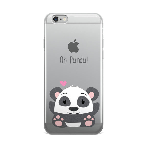 Oh Panda - iPhone 5/5s/Se, 6/6s, 6/6s Plus Case
