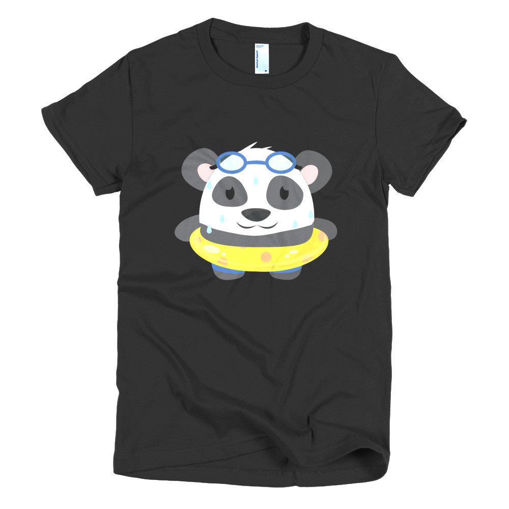Hot Panda - Short sleeve women's t-shirt